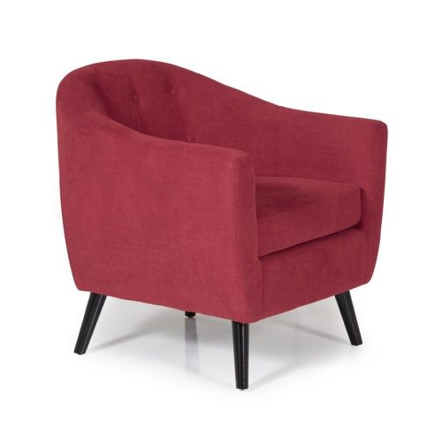 Ocassional Evie Red Occasional Chair